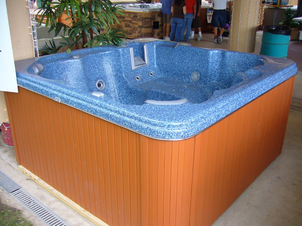 Do i measure the tub or the cabinet the tub is in hot for Types of hot tubs