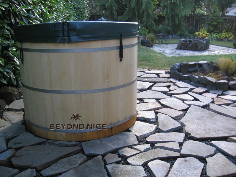 Small Yard Hot Tub
